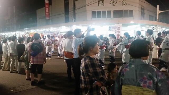 魚沼市小出祭りも最終日に行ってきました。
