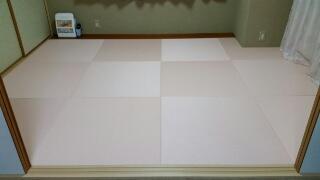 湯沢町のマンションへ縁なし畳を納めてきました。