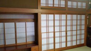 市営住宅の畳の張り替えや襖の張り替え