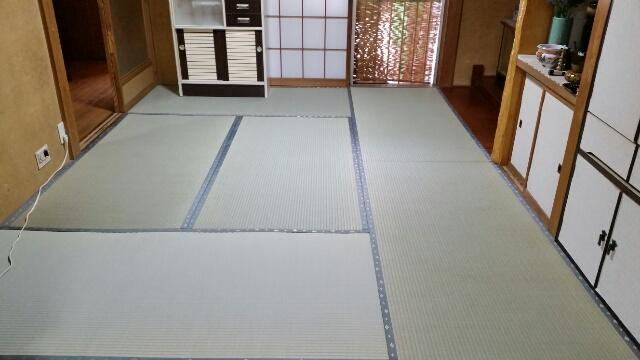 魚沼市の畳や襖の工事のご依頼が増えてきました。