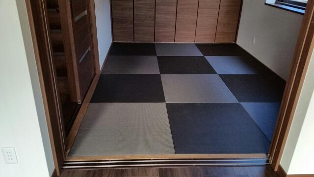 湯沢と長岡市のマンションの縁無し畳入れ替え工事のご注文です。