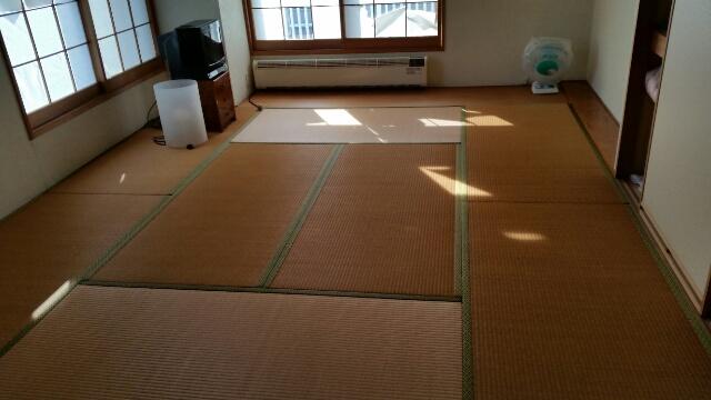 湯沢や苗場のマンションの畳
